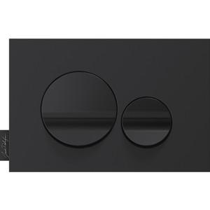Кнопка смыва Jacob Delafon Hors Collection круглая, черная (E20859-7-BMT) комплектующие