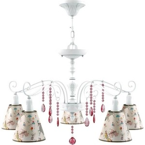 цена на Подвесная люстра Lamp4you E4-05-WM-LMP-O-14-CRL-E4-05-PK-DN