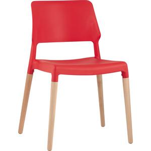 Стул Stool Group Bistro деревянные ножки 8086 red