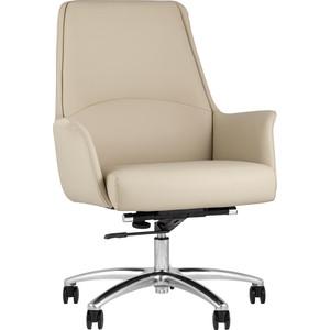 Кресло офисное TopChairs Viking бежевое B025 DL001-3