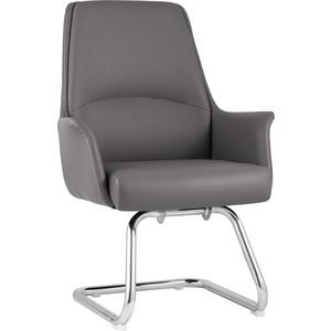 Кресло для посетителей TopChairs Viking серое C025 DL001-22 + legs