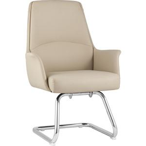 Кресло для посетителей TopChairs Viking бежевое C025 DL001-3 + legs