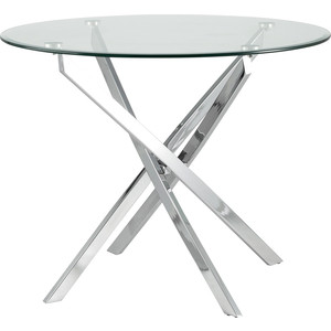 Стол круглый Stool Group Гидра 90 столешница стекло/ножки металл Z-213/90 GLASS + legs