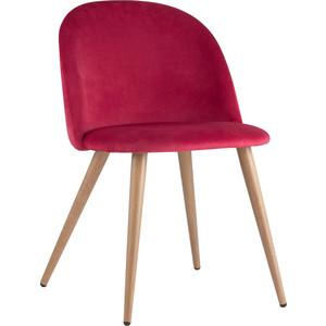 Стул Stool Group Лион вельвет красный Zomba velvet red