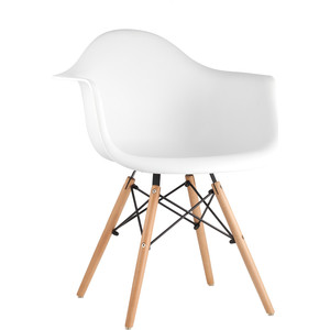 Кресло Stool Group Eames W белое 8066 white seat dual