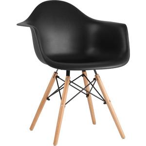 Кресло Stool Group Eames W черное 8066 black seat dual