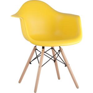 Кресло Stool Group Eames W желтое 8066 yellow seat dual