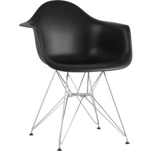 Кресло Stool Group Eames черное 8066B black seat dual