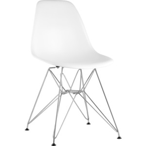 Стул Stool Group Eames белый 8056A white seat dual
