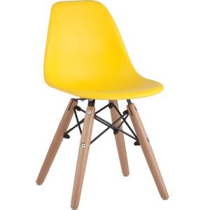 Стул Stool Group Eames small деревянные ножки 8056S yellow