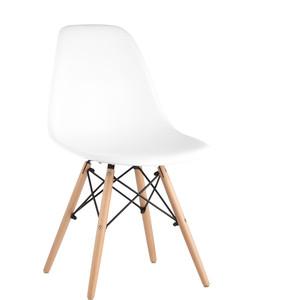 Стул Stool Group Eames белый/деревянные ножки rico white dual