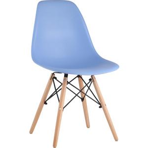 Стул Stool Group Eames голубой/деревянные ножки 8056PP light blue 60202