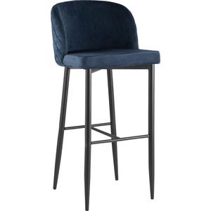 Стул барный Stool Group Стул барный Оскар вельвет сине-зеленый MC11B velvet HLR-63 dual bosito vintage барный стул