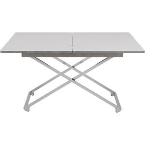 Стол универсальный трансформируемый Калифорния мебель Андрэ Менсола серый бетон андрэ нортон зеркало судьбы