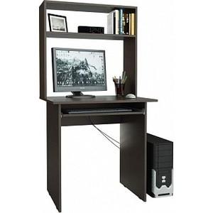 Стол компьютерный Мастер Милан-2П с полкой и надставкой венге М-2ПН-ВМ компьютерный стол васко kc 20 31 м1 венге шатура столы и стулья