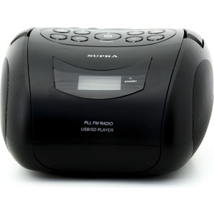 Аудиомагнитола Supra BB-24MUS аудиомагнитола supra bts 580 черный