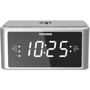Радиоприемник TELEFUNKEN TF-1595U silver радиоприемник telefunken tf 1571 белый