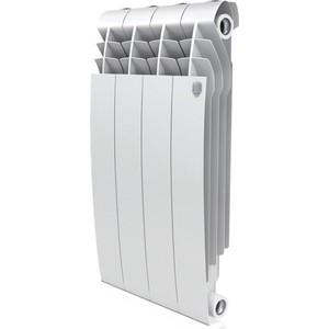Радиатор отопления ROYAL Thermo BiLiner 500 биметаллический, 4 секции bianco traffico (RTBBT50004)