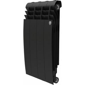 Радиатор отопления ROYAL Thermo BiLiner 500 биметаллический, 4 секции noir sable (RTBNS50004)