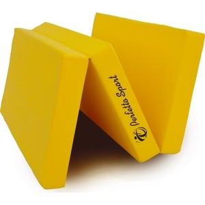 Мат PERFETTO SPORT Мат № 4 (100 х 150 х 10) складной жёлтый клинанс мат матирующий лосьон цена