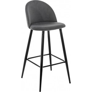 Барный стул Woodville Dodo bar серый