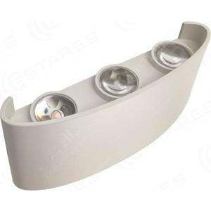 Светодиодный светильник, бра Estares LINZA SIX 6W R-120-WW-WHITE-220-IP54