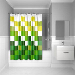 Штора для ванной IDDIS Basic 180x200, зеленая (B62P218i11) штора для ванной dasch la vita кораллы цвет мультиколор 178 х 200 см