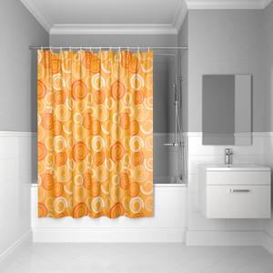 Штора для ванной IDDIS Basic 180x200, оранжевая (B61P218i11)
