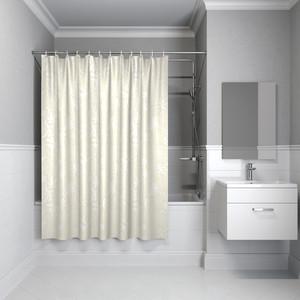 Штора для ванной IDDIS Basic 180x180, бежевая (B59P118i11) штора для ванной 180 180 см пэт однотонный 10 40