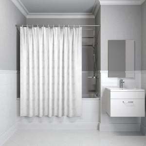 Фото - Штора для ванной IDDIS Basic 180x180, белая (B56P118i11) шторка для ванной tatkraft seagull цвет белый синий 180 см х 180 см