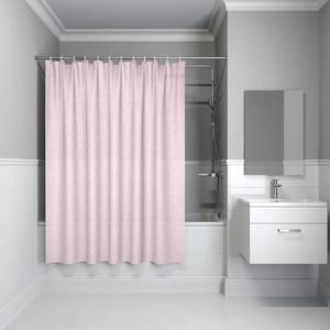 Штора для ванной IDDIS Basic 180x200, розовая (B55P218i11) штора для ванной primanova candia 180 200 см розовый