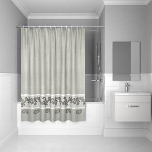 Штора для ванной IDDIS Basic 180x200, серая (B51P218i11) штора для ванной dasch la vita кораллы цвет мультиколор 178 х 200 см