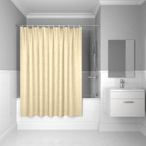 Штора для ванной IDDIS Basic 180x200, бежевая (B50P218i11) штора для ванной primanova candia 180 200 см розовый