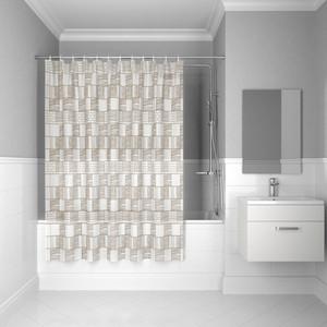 Штора для ванной IDDIS Promo 180x180, бежевая (P30PV11i11)