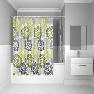 Штора для ванной IDDIS Promo 180x180, зеленая (P29PV11i11)