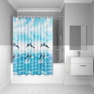 Штора для ванной IDDIS Promo 180x180, голубая (P21PV11i11)