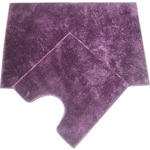 Набор ковриков для ванной IDDIS Basic 90x60, 50x50, фиолетовый (B18M690i12)