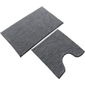 Набор ковриков для ванной IDDIS Promo 80x50, 50x50, серый (P38M580i12)