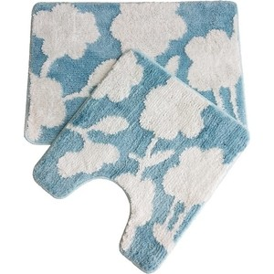 Набор ковриков для ванной IDDIS Promo 65x45, 45x50, голубой (P37M465i12)
