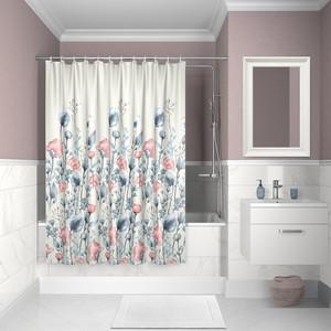 Штора для ванной IDDIS Decor 180x200, разноцветная (D11P218i11)
