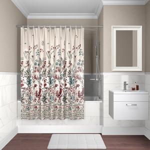 Штора для ванной IDDIS Decor 180x180, разноцветная (D03P118i11)
