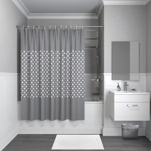 Штора для ванной IDDIS Basic 240x200, темно-серая (B44P224i11)