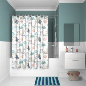 цена на Штора для ванной IDDIS Basic 180x200, разноцветная (B23P218i11)
