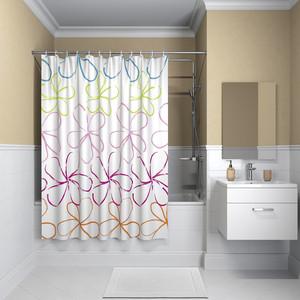Штора для ванной IDDIS Basic 180x200, разноцветная (B18P218i11)