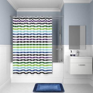 Штора для ванной IDDIS Promo 180x180, разноцветная (P18P118i11) штора для ванной 180 180 см пэт однотонный 10 40
