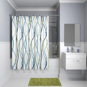 Штора для ванной IDDIS Promo 180x180, разноцветная (P15P118i11) штора для ванной 180 180 см пэт однотонный 10 40