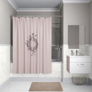 Штора для ванной IDDIS Basic 180x200, розовая (B15P218i11) штора для ванной primanova candia 180 200 см розовый