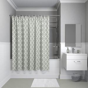 Штора для ванной IDDIS Basic 180x200, серая (B10P218i11)
