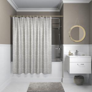 Штора для ванной IDDIS Decor 180x180, серая (D01P118i11)