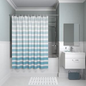 Штора для ванной IDDIS Basic 180x180, бирюзовая (B05P218i11)